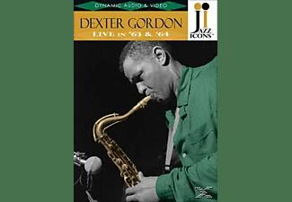 Dexter Gordon - Jazz Icons: Dexter Gordon Live In '63 & '64  - (DVD)