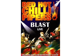 Red Hot Chilli Pipers - Blast Live  - (DVD)