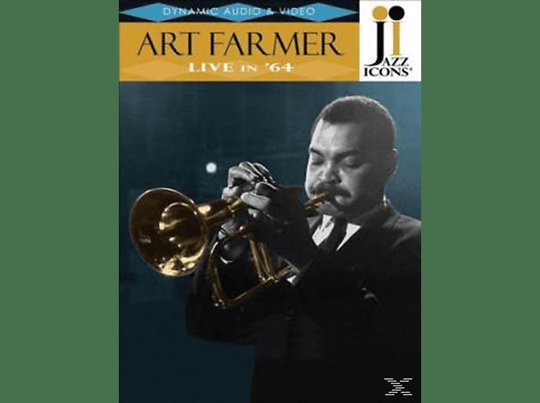 Art Farmer - Jazz Icons:Art Farmer Live In '64 [DVD]