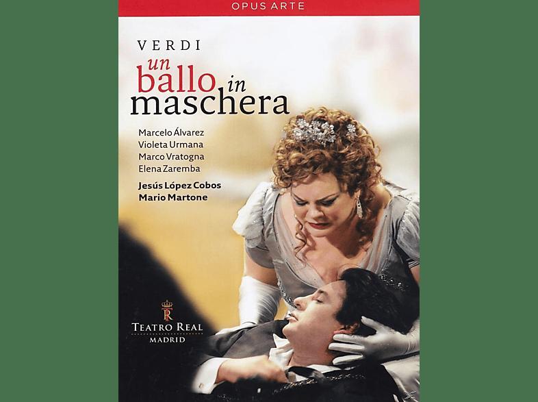 Marcelo Álvarez, Violeta Urmana, Marco Vratogna, Elena Zaremba, Alessandra Marianelli, Chorus And Orchestra Of The Teatro Real - Un Ballo In Maschera [DVD]
