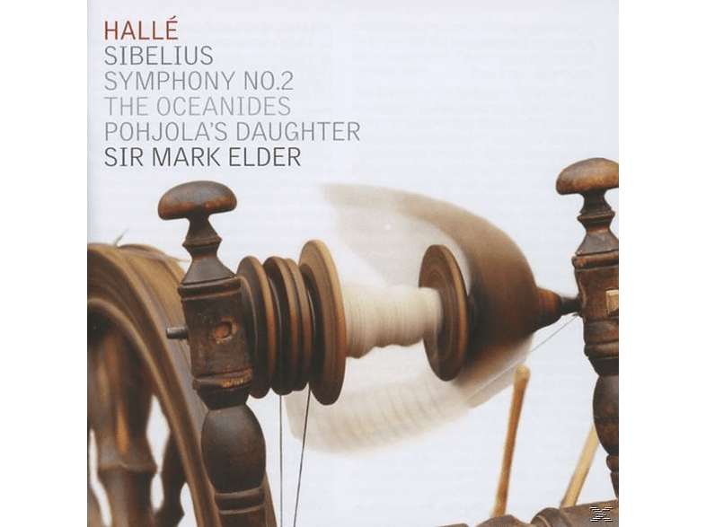 The Halle Orchestra - Symphony No.2 / Pohjola's Daugter / The Oceanides [CD]
