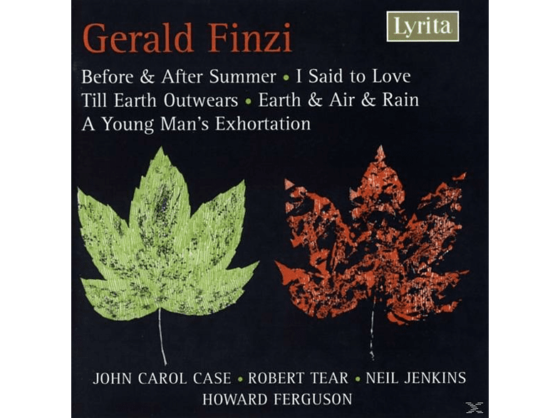 John Carol Case - Gerald Finzi - Songs [CD]
