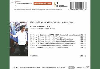 Francesco Piemontesi - Werke Für Cello Und Klavier  - (CD)