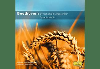 Wpo, BERNSTEIN/WP - Sinfonien 6, 8 (Cc)  - (CD)