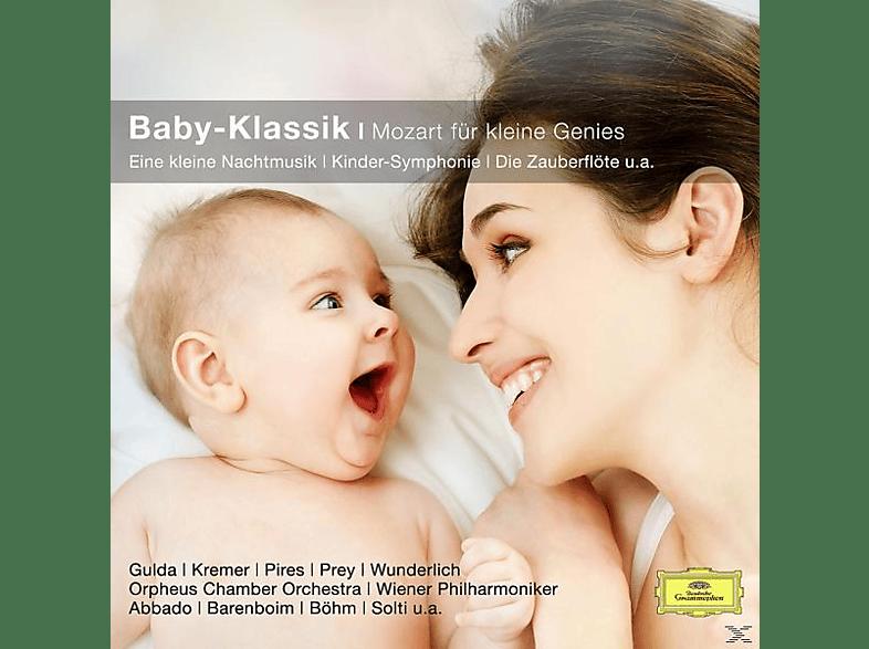 Wunderlich/Abbado/Barenboim/WP/+ - Baby-Klassik-Mozart Für Kleine Genies (Cc) [CD]