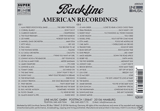 VARIOUS - Backline Vol.343  - (CD)