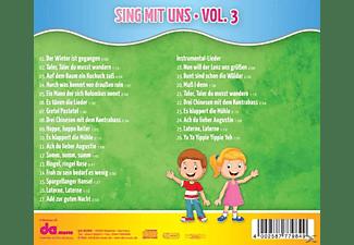 VARIOUS - Sing Mit Uns Kinderlieder 3  - (CD)
