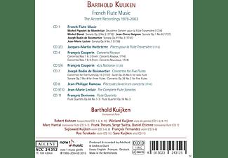 Robert Kohnen, Wieland Kuijken, Marc Hantai, Frank Theuns, Serge Saitta, Daniel Etienne, Sigiswald Kuijken, Ryo Terakado, Sara Kuijken, François Fernandez - French Flute Music  - (CD)