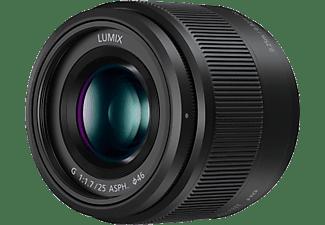 PANASONIC H-H025E Lumix G - 25 mm f/1.7-22 ASPH (Objektiv für Micro-Four-Thirds, Schwarz)