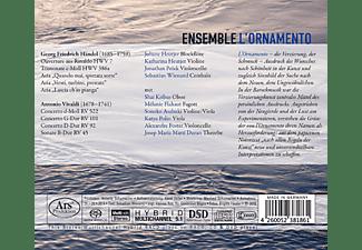 Ensemble L'ornamento - Concerti E Arie  - (SACD Hybrid)
