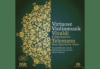 Susanne Branny, Dresdner Kapellsolisten, Helmut Branny - Die 4 Jahreszeiten/Don Quichotte Suite  - (SACD Hybrid)
