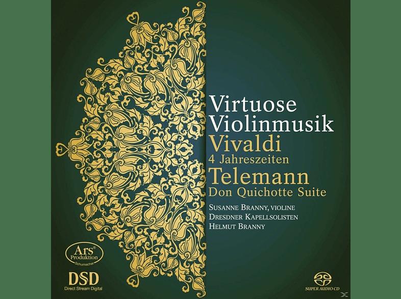 Susanne Branny, Dresdner Kapellsolisten, Helmut Branny - Die 4 Jahreszeiten/Don Quichotte Suite [SACD Hybrid]