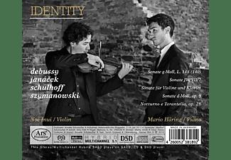 Noe Inui, Mario Häring - Identity  - (SACD Hybrid)