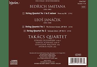 Bedřich Smetana, Takacs Quartet - Streichquartette  - (CD)