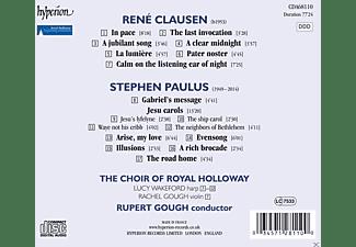 Royal Holloway Choir, Rupert Gough, Stephen Paulus, Choir Of Royal Holloway - Calm On The Listening Ear Of Night-Chorwerke  - (CD)