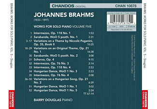 Douglas Barry - Klavierwerke Vol.5  - (CD)