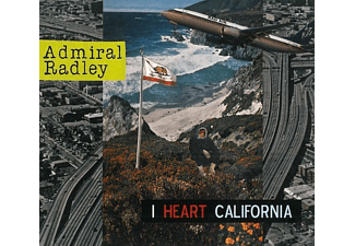 Admiral Radley - I HEART CALIFORNIA  - (CD)