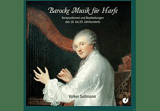 Volker Sellmann - Barocke Musik Für Harfe  - (CD)