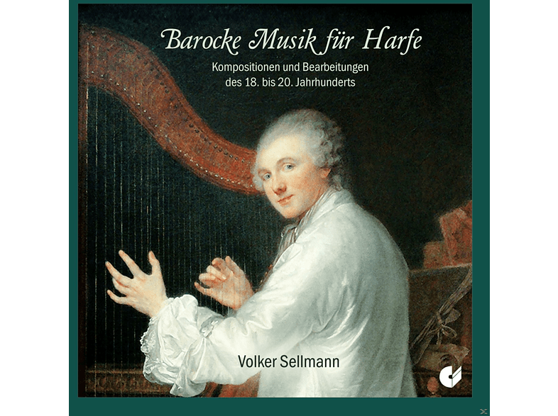 Volker Sellmann - Barocke Musik Für Harfe [CD]