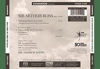 Bbc Symphony Chorus And Orchestra, Samuel West, Andrew Davis - Morning Heroes / Hymn To Apollo  - (SACD Hybrid)