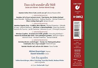Miriam Feuersinger, Daniel Schreiber, Les Escapades - Dass Sich Wunder Alle Welt-Lieder Zum Advent  - (CD)