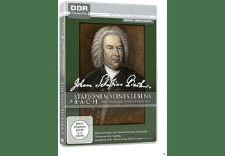 Johann Sebastian Bach - Stationen seines Lebens / Bach - Eine Dokumentation in 7 Kapiteln DVD