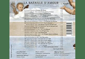 Dominique Vellard, Maria Ferré, Alice Borciani, Murat Coskun, Vincent Flückinger, Pierre Attaingnant - Bataille D'amour-Lieder Der Franz.Renaissance  - (CD)