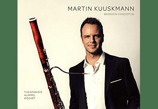 Martin Kuuskmann, Tallinn Chamber Orchestra, The Northwest Sinfonia - Fagottkonzerte  - (CD)
