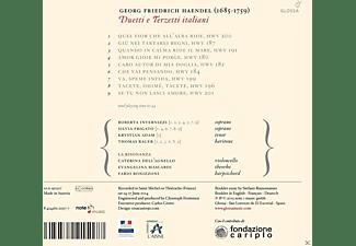 Roberta Invernizzi, Silvia Frigato, Krystian Adam, Thomas Bauer, La Risonanza - Duetti E Terzetti Italiani  - (CD)