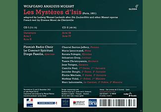 VARIOUS, Flemish Radio Choir, Le Concert Spirituel - Les Mystères D'isis  - (CD)