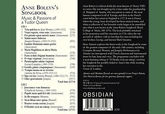 Alamire, Clare Wilkinson, Jacob Heringman, Kirsty Whatley - Anne Boleyn's Songbook  - (CD)