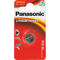 PANASONIC CR1632 Knopfzelle, Silber