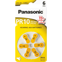 PANASONIC PR-230/PR10 Knopfzelle, Gelb
