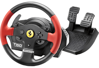 THRUSTMASTER T150 Ferrari Edition (Lenkrad inkl. 2-Pedalset, PS4 / PS3 / PC)