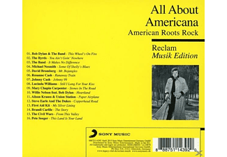 VARIOUS - All About - Reclam Musik Edition - Americana  - (CD)