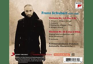 Kammerakademie Potsdam - Schubert: Sinfonien 1 & 10 (Fragment)  - (CD)