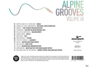 VARIOUS - Alpine Grooves Vol.7 (Kristallhütte)  - (CD)