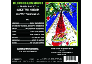 Jarett Ott - Paul Hindemith-The Long Christmas Dinner  - (CD)