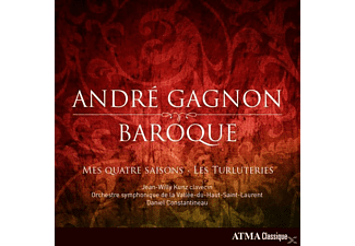 Jean-willy Kunz - André Gagnon-Baroque - (CD)