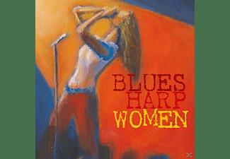 VARIOUS - Blues Harp Woman  - (CD)