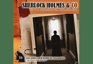 VARIOUS - Sherlock Holmes & Co - Das Erbe Der Familie De Chambois Vol.16  - (CD)