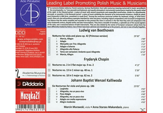 Murawski,Marcin/Starzec-Makandasis,Anna - Nocturnes  - (CD)