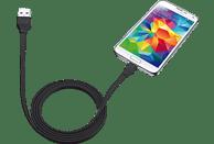 TRUST 20135 UR, Micro-USB-Kabel, 1 m, Schwarz