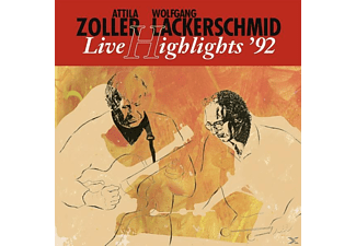 Lackerschmid, Wolfgang / Zoller, Attila - Live Highlights  92  - (Vinyl)