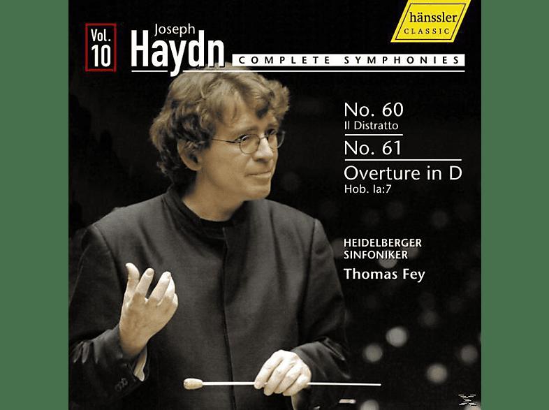 Heidelberger Sinfoniker - Sinfonien 60+61/Ouvertüre D-Dur [CD]