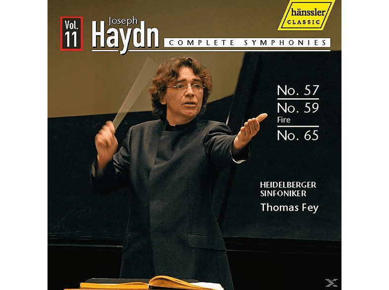 Heidelberger Sinfoniker - Sinfonien 57,59+65 [CD]
