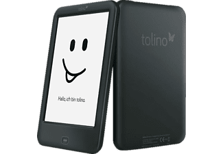 TOLINO shine 2 HD   4 GB WLAN E-Book Reader Schwarz