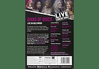 VARIOUS - Divas Of Disco Live  - (DVD)