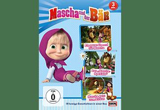 Mascha und der Bär 1, 2 & 4 DVD