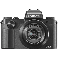 CANON PowerShot G5 X Digitalkamera Schwarz, 20.2 Megapixel, 4.2x opt. Zoom, TFT LCD, WLAN
